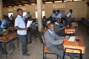 The Water Project: Kalulini Boys' Secondary School -  In Class