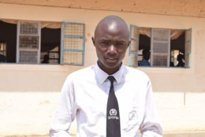 The Water Project: Kalulini Boys' Secondary School -  John George
