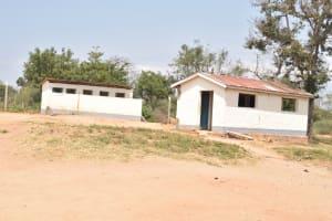 The Water Project: Kalulini Boys' Secondary School -  Latrines