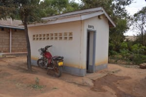 The Water Project: Kalulini Boys' Secondary School -  Male Staff Bathroom