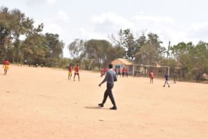 The Water Project: Kalulini Boys' Secondary School -  Playing Soccer