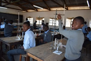 The Water Project: Kalulini Boys' Secondary School -  Science Lab
