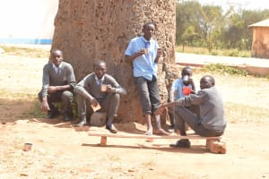 The Water Project: Kalulini Boys' Secondary School -  Students Hanging Out