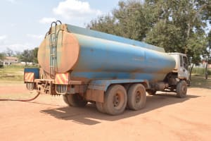 The Water Project: Kalulini Boys' Secondary School -  Water Delivery Truck