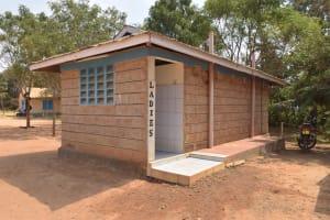 The Water Project: Kalulini Boys' Secondary School -  Womens Staff Bathroom