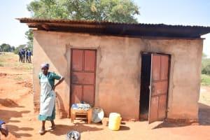 The Water Project: Kikuswi Secondary School -  Kitchen