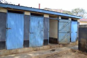 The Water Project: AIC Kyome Boys' Secondary School -  Boys Latrines