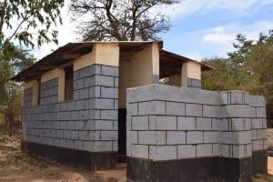 The Water Project: AIC Kyome Boys' Secondary School -  Boys Second Latrine Block