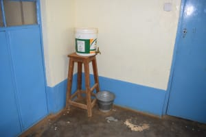 The Water Project: AIC Kyome Boys' Secondary School -  Handwashing Station