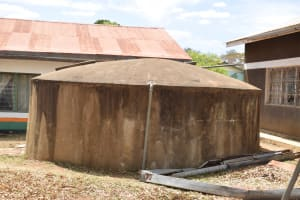 The Water Project: AIC Kyome Boys' Secondary School -  Old Small Rainwater Tank