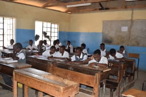 The Water Project: AIC Kyome Boys' Secondary School -  Students In Class