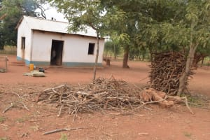 The Water Project: Kamulalani Primary School -  Kitchen And Firewood