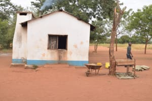 The Water Project: Kamulalani Primary School -  Kitchen Building
