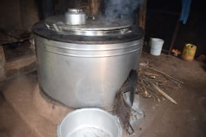 The Water Project: Kamulalani Primary School -  Stove