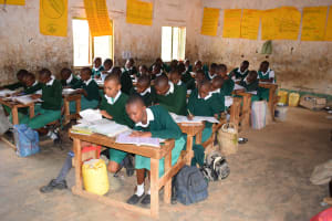 The Water Project: Matiliku Primary School -  Class Time