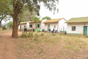 The Water Project: Matiliku Primary School -  Clothes Hang To Dry Behind Dorms
