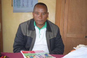 The Water Project: Matiliku Primary School -  Gabriel Mbindyo