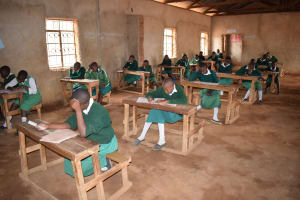 The Water Project: Matiliku Primary School -  Older Primary Students In Class