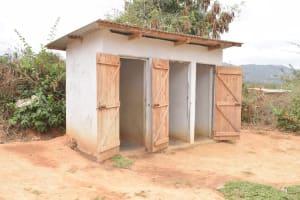 The Water Project: Matiliku Primary School -  Second Block Of Girls Latrines