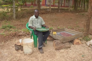The Water Project: Matiliku Primary School -  Sorting Beans For Cooking