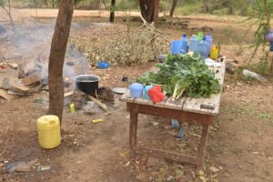 The Water Project: Matiliku Primary School -  Vegetables To Be Prepared For Cooking