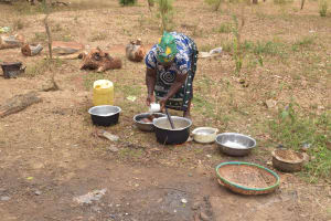 The Water Project: Matiliku Primary School -  Washing Dishes