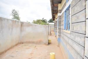 The Water Project: Kiundwani Secondary School -  Bathing Area