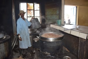 The Water Project: Kiundwani Secondary School -  Cooking Food