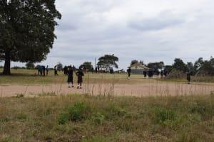 The Water Project: Kiundwani Secondary School -  Playground Area