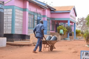 The Water Project: Katalwa Secondary School -  Carrying Water