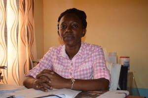 The Water Project: Katalwa Secondary School -  Florence Mwendwa