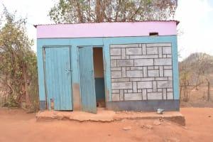 The Water Project: Katalwa Secondary School -  Girls Latrines