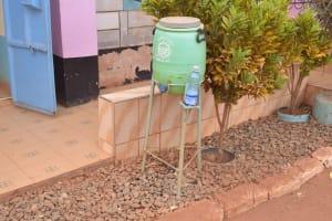 The Water Project: Katalwa Secondary School -  Handwashing Station