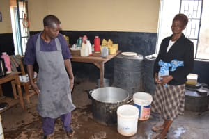 The Water Project: Katalwa Secondary School -  Kitchen Staff