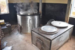 The Water Project: Katalwa Secondary School -  Kitchen