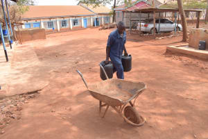 The Water Project: Katalwa Secondary School -  Loading Up Water