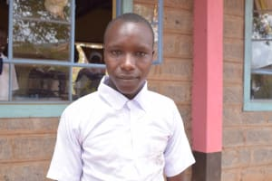 The Water Project: Katalwa Secondary School -  Meshack Musyoki