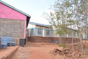The Water Project: Katalwa Secondary School -  School Compound And Buildings