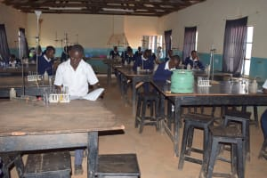 The Water Project: Katalwa Secondary School -  Science Lab