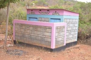 The Water Project: Katalwa Secondary School -  Staff Latrines