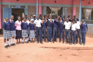 The Water Project: Katalwa Secondary School -  Students And Teachers