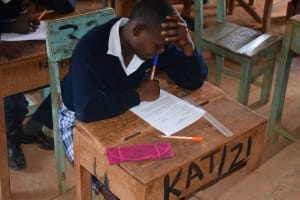 The Water Project: Katalwa Secondary School -  Studying