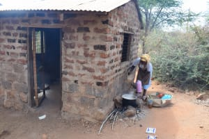 The Water Project: Nguluma Primary School -  Cooking Lunch