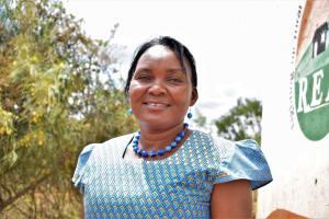 The Water Project: Nguluma Primary School -  Deputy Headteacher Zipporah Kathenge