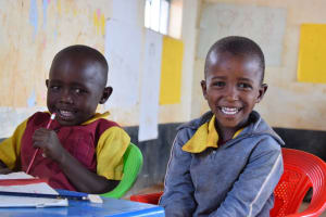 The Water Project: Nguluma Primary School -  Happy Students