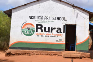The Water Project: Nguluma Primary School -  School Sign