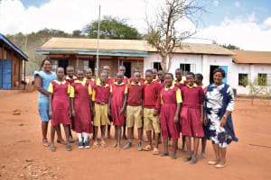 The Water Project: Nguluma Primary School -  Students And Teachers