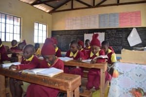 The Water Project: Nguluma Primary School -  Students In Class