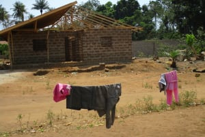 The Water Project: Mummy Ann's Pre-Primary School -  Clothesline