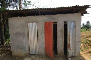 The Water Project: Mummy Ann's Pre-Primary School -  Community Latrine